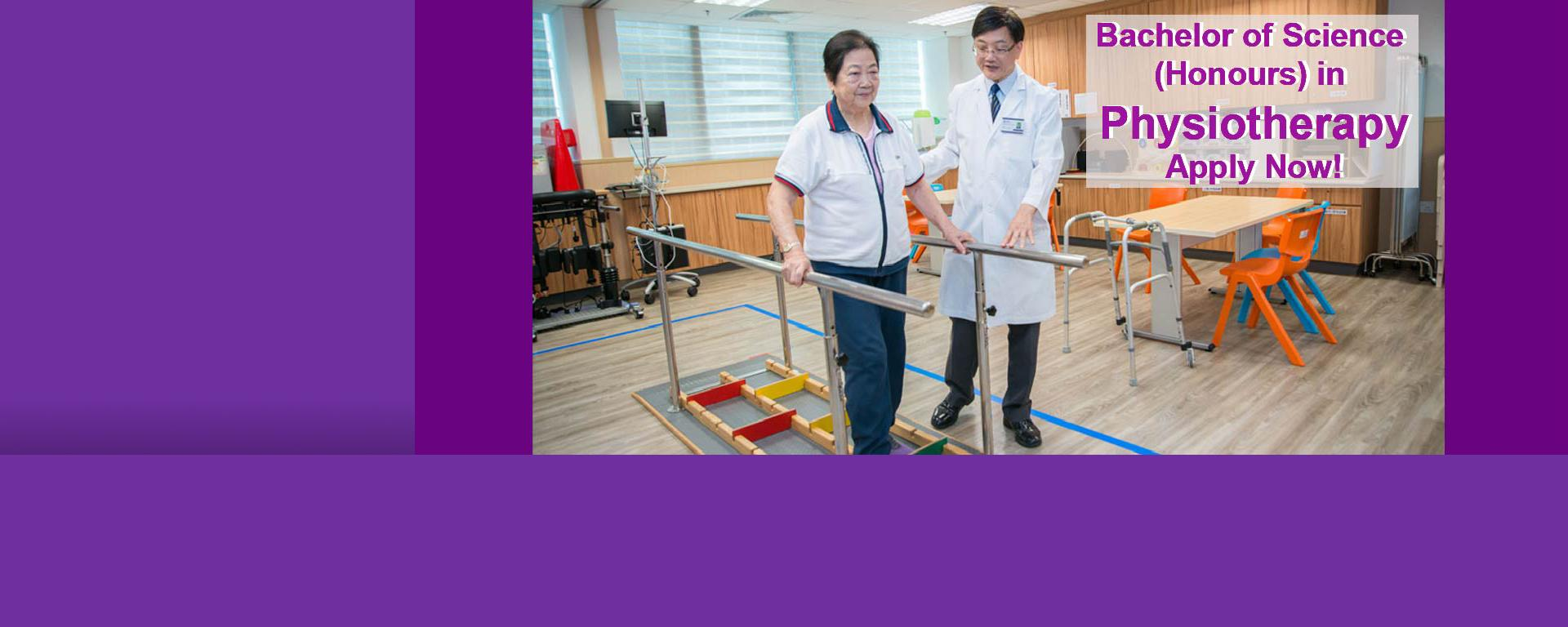New programme: Bachelor of Science (Honours) in Physiotherapy