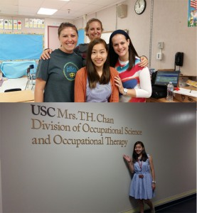 Student development programme - the 28-day USC University of Southern California Summer Occupational Therapy Immersion (SOTI) programme held in Los Angeles, USA