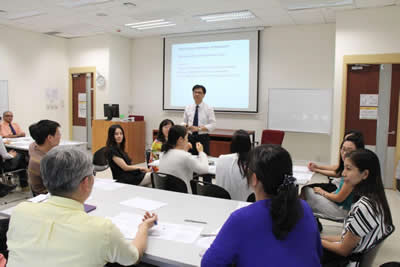 "TWC conducts a workshop in ""Keys to Preparing Successful Research Grant Proposal"""