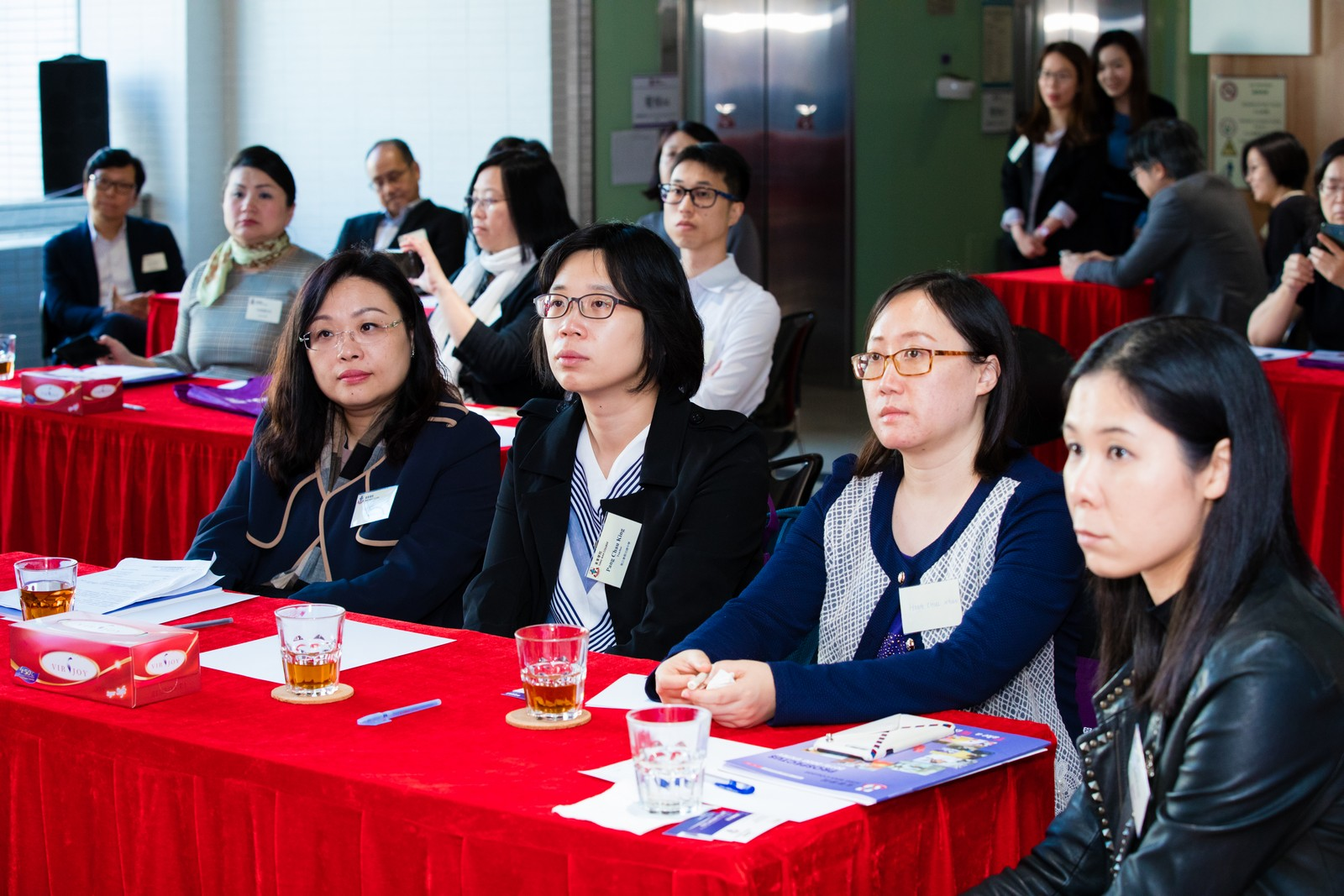 Visit of The Association of Hong Kong Chinese Middle Schools