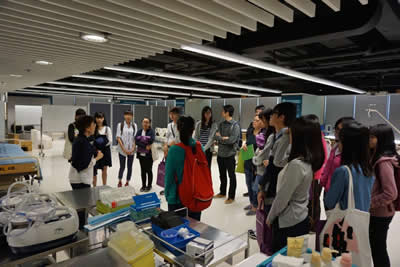 Tung Wah College introduces its programmes to the public on Information Day