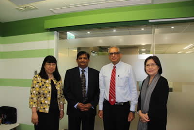 Tung Wah College meets with representative from International Horizons College to discuss collaborative opportunities (11 November 2015)