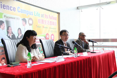Tung Wah College Updates Media its Recent Development at Spring Reception